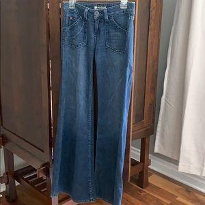 Hudson wise leg jeans